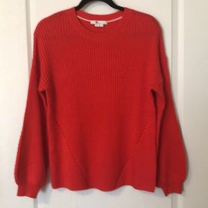 Boden Ballon Sleeve Knitted Sweater - Small